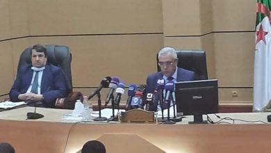 صورة وزير العدل يعقد إجتماعًا مع الرؤساء والنواب العامين لدى المجالس القضائية